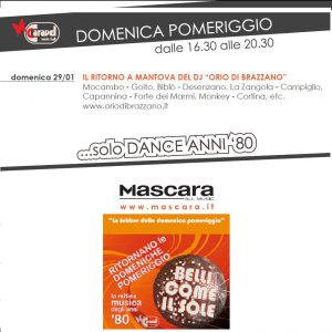 Mascara Mantova 29 gennaio 2012